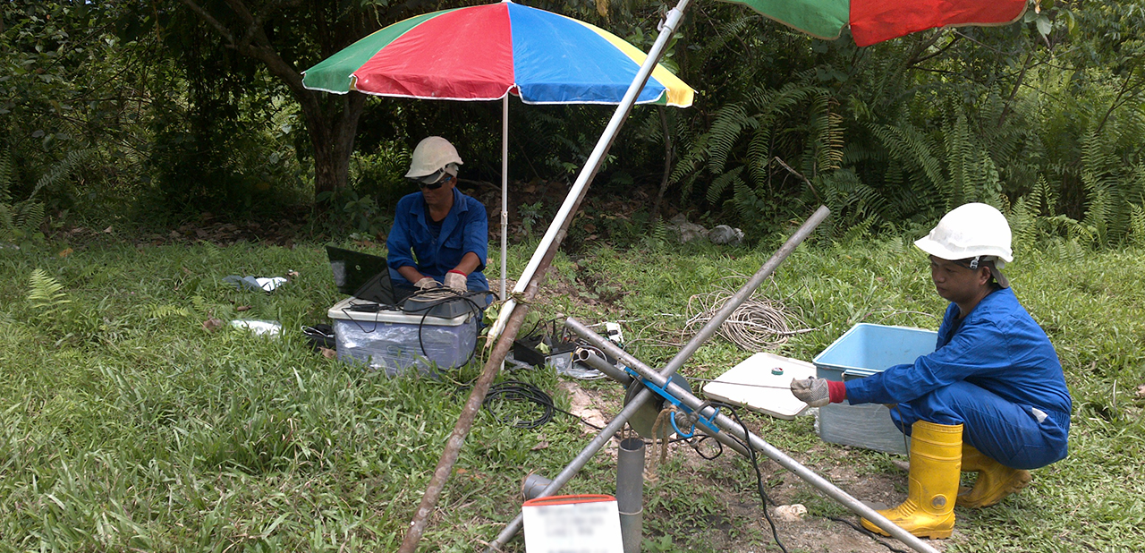 Geophysical Testing